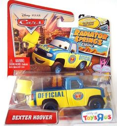 Pixar Cars Radiator Springs Classic-Toys R Us Only- Dexter Hoover by mattel. $8.49