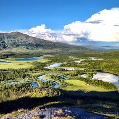 Vadvetjåkka national park.