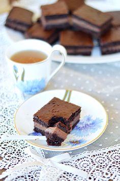 Nutella and mascarpone cake