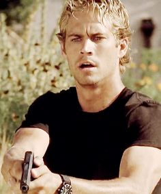 Paul Walker...The Fast and The Furious