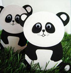Panda Pack die cuts! So super cute :) #panda #etsy #scrapbooking