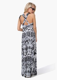 Changeable Tie Dye Maxi Dress | necessaryclothing.com