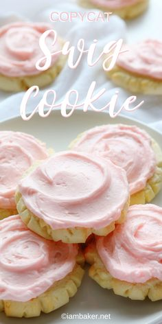 NO-FAIL recipe tastes like heaven! These beautiful cookies are the BEST tasting sugar cookie you will ever try! Extensively tested and approved!These beautiful cookies are the BEST tasting sugar cookie you will ever try! Extensively tested and approved! Cake Mix Cookie Recipes, Best Cookie Recipes, Baking Recipes, Sweet Recipes, Best Tasting Sugar Cookie Recipe, Simple Recipes, Frosting Recipes, Kitchen Recipes, Sugar Cookie Frosting