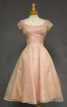 Another gorgeous vintage bridesmaid option -- although this one is sold. How 50's do you want to get?