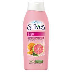 St. Ives Even and Bright Pink Lemon and Mandarin Orange Body Wash 24oz