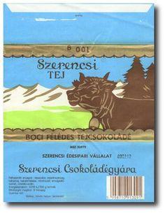 retro tárgyak - Szerencsi Boci csoki
