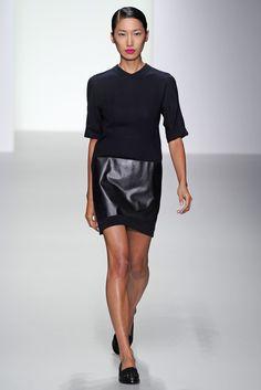 J JS Lee RTW Spring 2014 London Fashion Week #LFW source: http://www.wwd.com