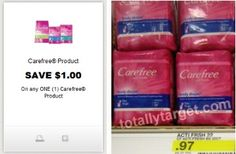 Target: Get FREE Carefree Pantiliners with Printable Coupon!!