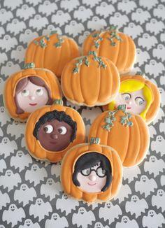 Halloween pumpkins, by doctorcookies