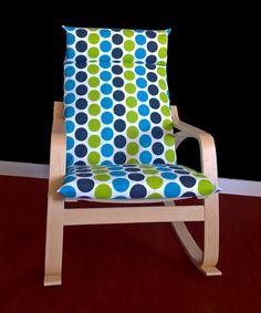 IKEA POÄNG Cushion Slipcover  Fancy Dot Wild by RockinCushions