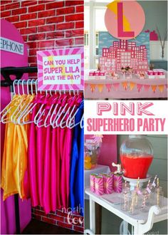 Darling Superhero Party for Girls