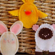 Easter finger puppets! #Easter #crafts