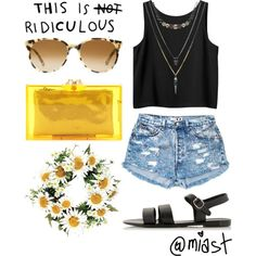 Transparent Bags #1 | Summer Outfits by miast on Polyvore