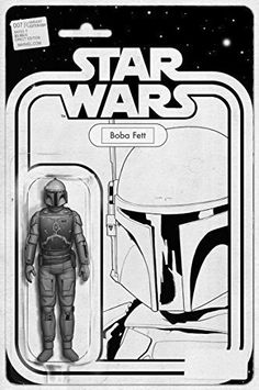 Star Wars Boba Fett Action Figure #7 Black & White Variant Limited Edition Cover http://www.newlimitededition.com/star-wars-boba-fett-action-figure-7-black-white-variant-limited-edition-cover/ Written by Jason Aaron. Art by John Cassaday. Variant Black & White Cover by John Tyler Christopher. Limited Edition only 3,000 made. THE GREATEST SPACE ADVENTURE OF ALL TIME CONTINUES! Luke Skywalker is NOT a Jedi-not yet, at least. He's only ever met one Jedi in his life…and he died. So, Luke..