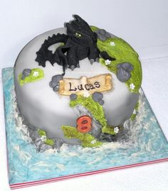 How to train your Dragon for Lucas - Cake by AWG Hobby Cakes