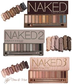 Which Urban Decay NAKED Palette Is Right For You? http://www.styledecordeals.com/2015/01/which-urban-decay-naked-palette-is.html