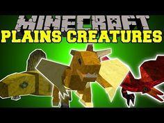 Minecraft: PLAINS CREATURES (ITEM THIEVES, GLIDING PETS, & ANNOYING BIRDS!) Mod Showcase - YouTube