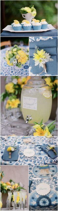 La Fete Weddings' Citrus themed bridal shower has been featured on Destination I Do Magazine's Blog » Ooh LaLa La Fete