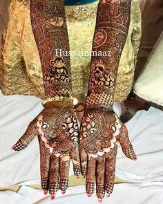 Love Story Henna - The Trending New Bridal Mehndi design Idea you'll LOVE! New Bridal Mehndi Designs, Bridal Henna, Henna Designs, Henna Mehndi, Mehendi, Henna Tattoos, Mehndi Design Pictures, Love Story, Design Trends