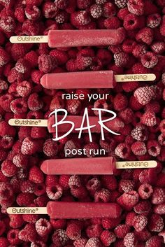 Did you know that raspberries have more Vitamin C than oranges? A great boost after finishing your run (or however you move), and just another reason we're so excited to have real raspberries in our Outshine Raspberry Fruit Bars.