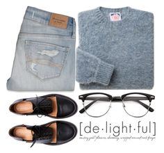 """""""de•light•ful"""" by wi-fi-li-fe ❤ liked on Polyvore featuring Abercrombie & Fitch, Minimarket, modern and emmastaggies"""