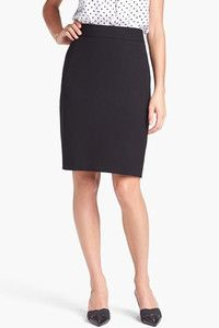 Black Pencil Skirt - #fashion #musthave #essential