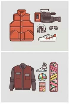 Back To The Future - Hover board or automatic dry jacket?
