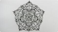 Zentangle Inspired Art #26 - YouTube