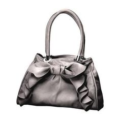 Tiddliwinks Cascade Bow Diaper Bag Silver For Baby