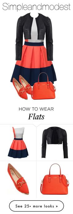 """""""Untitled #528"""" by simpleandmodest on Polyvore featuring Lattori, Narciso Rodriguez and Kate Spade"""