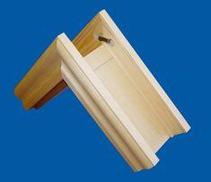 Obložková zárubeň dřevěná z masivu pro atypický otvor - E-shop, internetový prodej, vchodové, vnitřní a euro dveře a zárubně z masivu, kování, Irena Drozenová