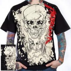 Metallica, T-Shirt, Scales Stain, All Over Print