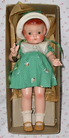 "Effanbee 19"" Patsy Ann MINT in BOX"
