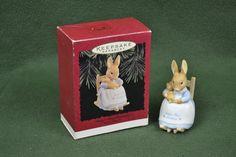 Hallmark - Baby's First Christmas - Beatrix Potter - Keepsake Ornament Rocker
