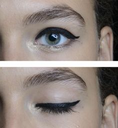 Le maquillage des yeux Tracy Reese printemps été 2014