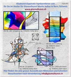 100 Jahre - drei Generationen Glasmaler HALTER in Bern Schweiz