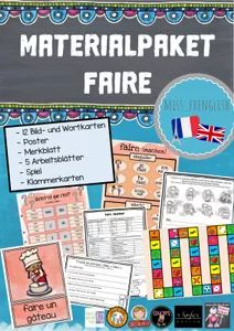Materialpaket: faire | miss_frenglish @ Lehrermarktplatz Teaching French, Teaching Materials, Teaching French Immersion