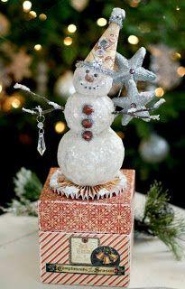 Snowy Season Box - Glue Arts: Holiday Traditions!!