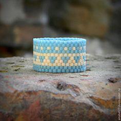 Купить Этническое кольцо Красивое широкое кольцо в этно-стиле Бохо-кольцо