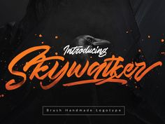 Skywalker Handmade Brush Typeface by Hendra Maulia