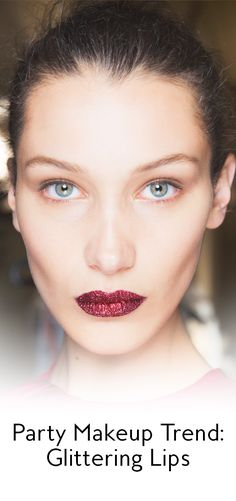 This makeup trend may be NSFW—but that's why we love it. Find out how wear glittering lips right here.
