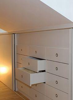 1000 images about inmaakkasten onder schuin dak on pinterest wands attic bedroom storage and - Mezzanine onder het dak ...