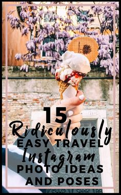 15 Ridiculously easy Instagram photo ideas and poses. Instagram is everyone's favorite photo app but, it's also my most cherished tool to drive traffic to my blog, make money, and make real connections. I attended a travel blog conference recently and two things were discussed: social media is important now more than ever and so are the messages that you post. Instagram is …