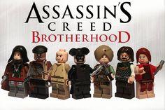 Lego Assassin's Creed Brotherood | Flickr - Photo Sharing!