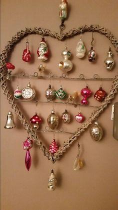 Mijn oude kerstballen