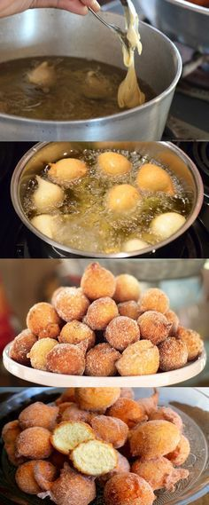 Bolinho de Chuva Sequinho #bolinho #bolinhodechuva#comida #culinaria #gastromina #receita #receitas #receitafacil #chef #receitasfaceis #receitasrapidas I Love Food, Good Food, Yummy Food, Portuguese Recipes, Diy Food, Sweet Recipes, Food Porn, Food And Drink, Dessert Recipes