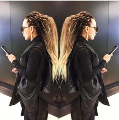 BASILISK FULL SET synthetic dreads extension Ombre black/brown/blonde 20-25 inch | Health & Beauty, Hair Care & Styling, Hair Extensions & Wigs | eBay!