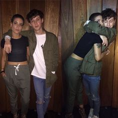 Troye Sivan and Halsey