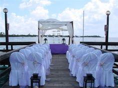 Wedding on the water #destinationwedding  #destinationwedding