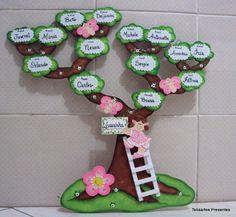 Kids Crafts, Ramadan Crafts, Foam Crafts, Diy Arts And Crafts, School Board Decoration, Class Decoration, School Decorations, Spanish Family Tree, Family Tree For Kids